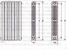 Параметры радиатора