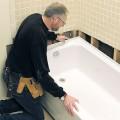 Демонтаж и монтаж ванны