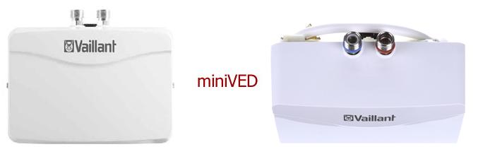 Электрические проточные водонагреватели VED Vaillant