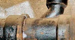Старая чугунная канализация